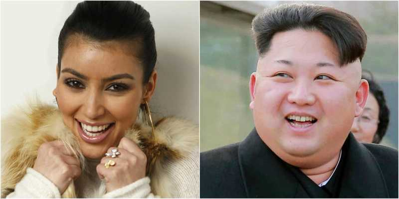Did You Know That Kim Jong-un And Kim Kardashian Can Be Twins?