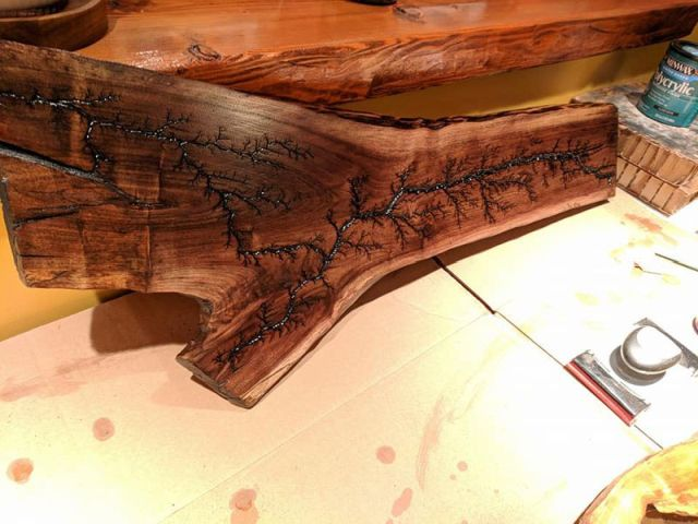 Art Masterpieces Are Made Of Wood By Evan Blomquist
