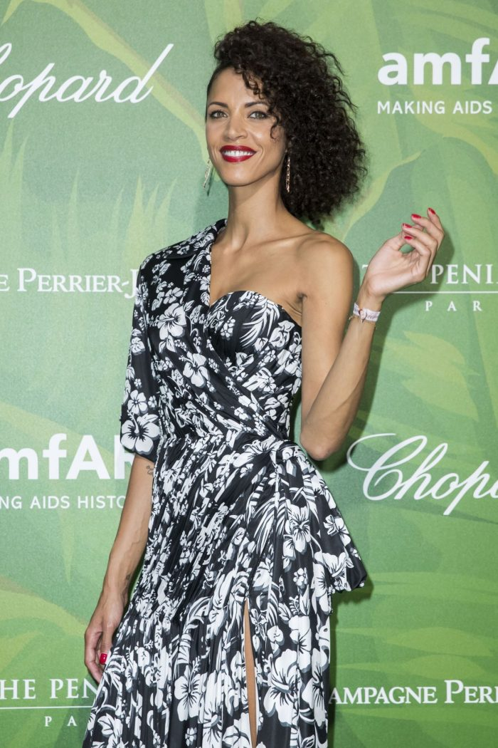 7 Photos Of Noemie Lenoir – amfAR Paris Dinner 2018