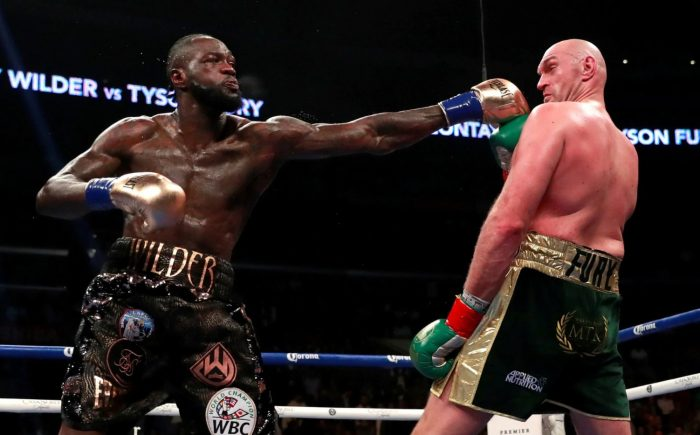 Deontay Wilder Vs. Tyson Fury Full Fight Highlights (23 Photos)