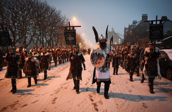 Up Helly Aa: Viking Invasion In Scotland (22 Photos)