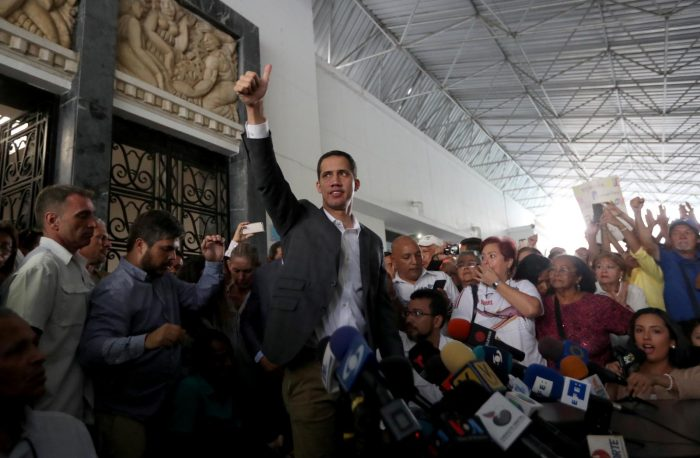 Venezuela's Guaido vows to paralyze public sector to squeeze Maduro