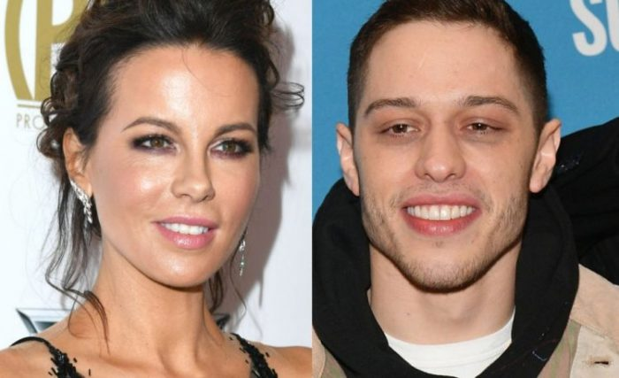 OK, It Looks Like Pete Davidson And Kate Beckinsale Are Officially A Thing
