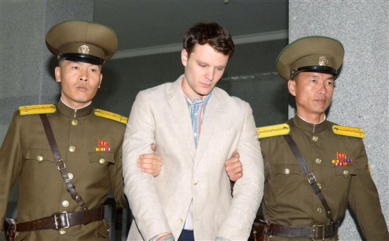 Trump under attack after letting Kim off the hook for Warmbier's death